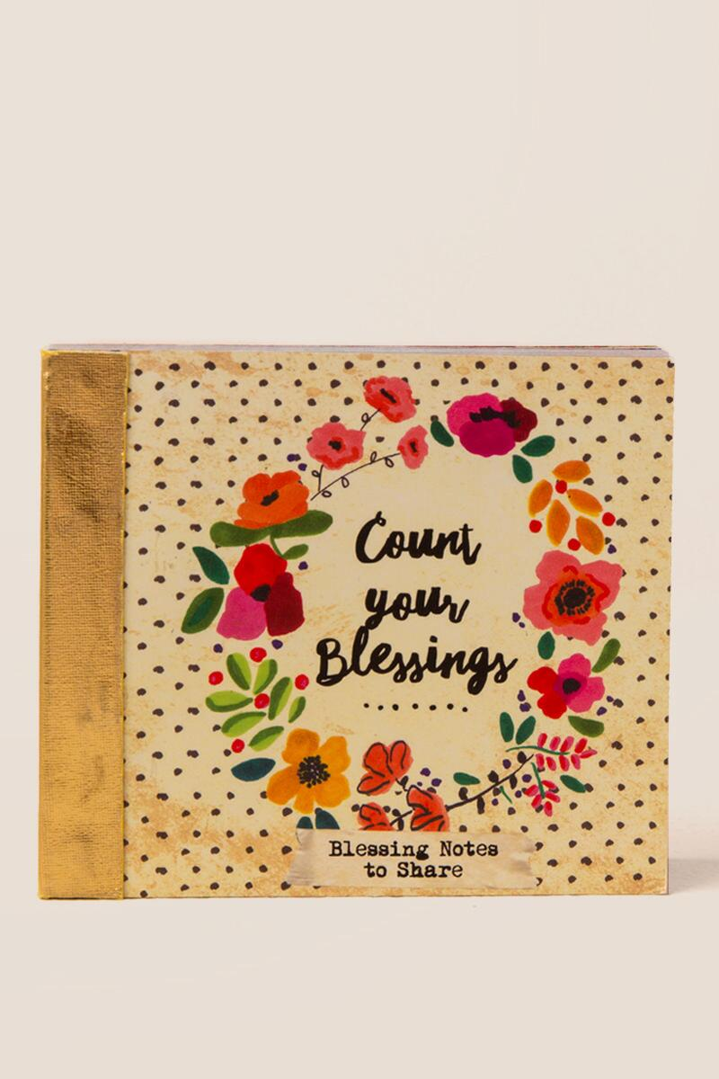Count Your Blessings Notes