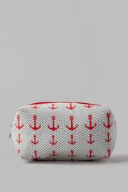 Anchor Print Travel Pouch