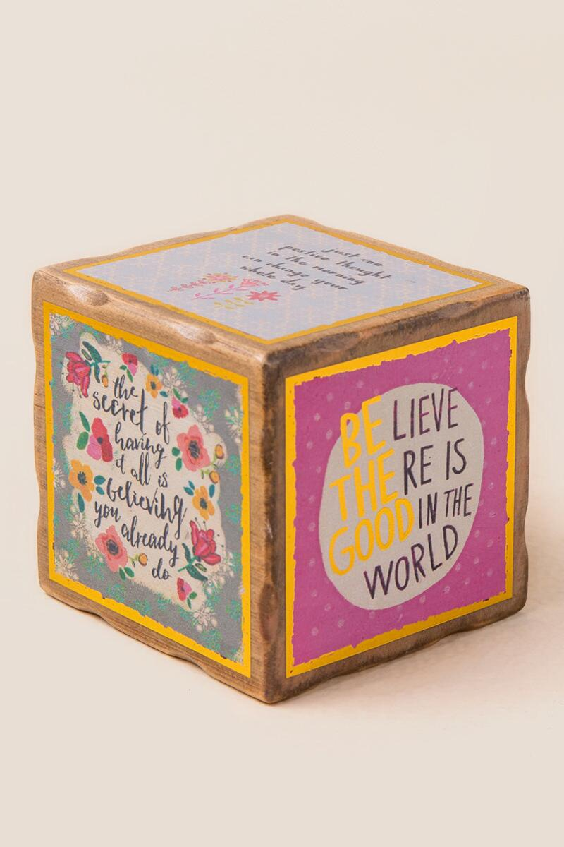 Be The Good In The World Inspiration Block