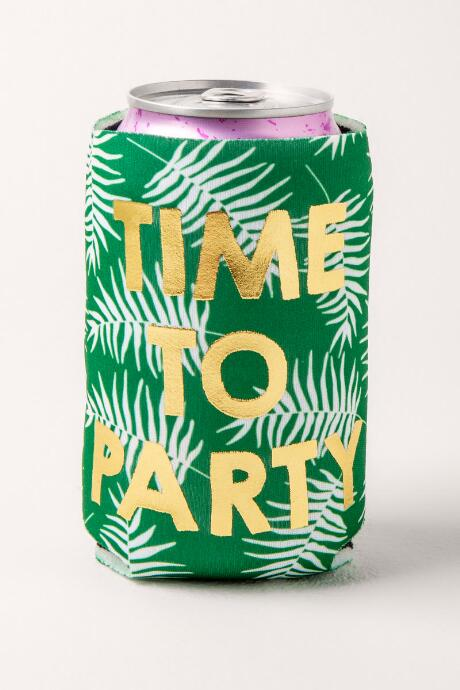 Time To Party Palm Coozie