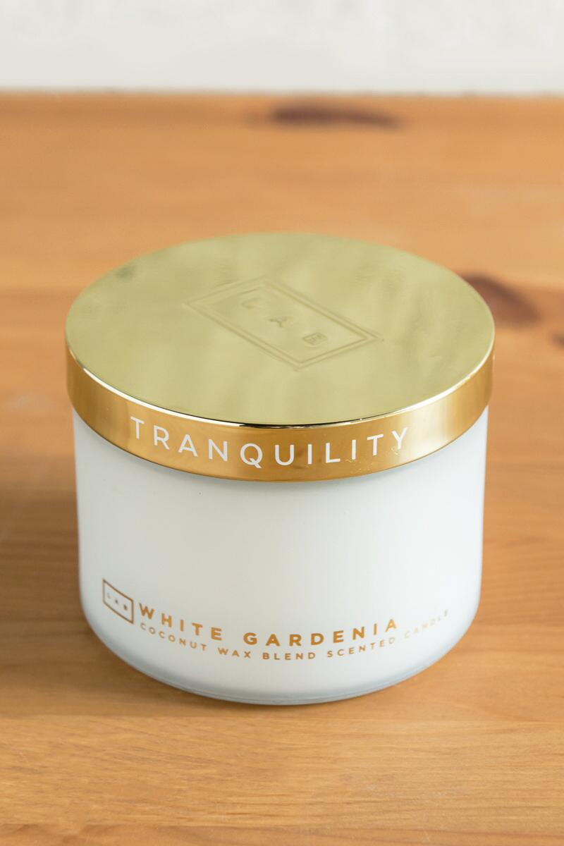 Spa Tranquility Gardenia Candle-  gift-cl