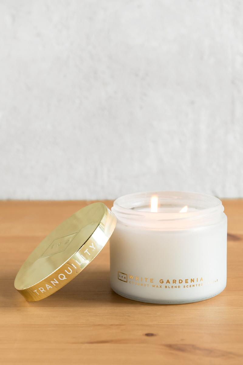 Spa Tranquility Gardenia Candle-  gift-clalternate