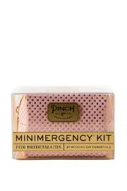 The Minimergency Kit for Bridesmaids