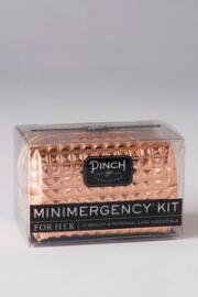Minimergency Kit for Her in Rose Gold