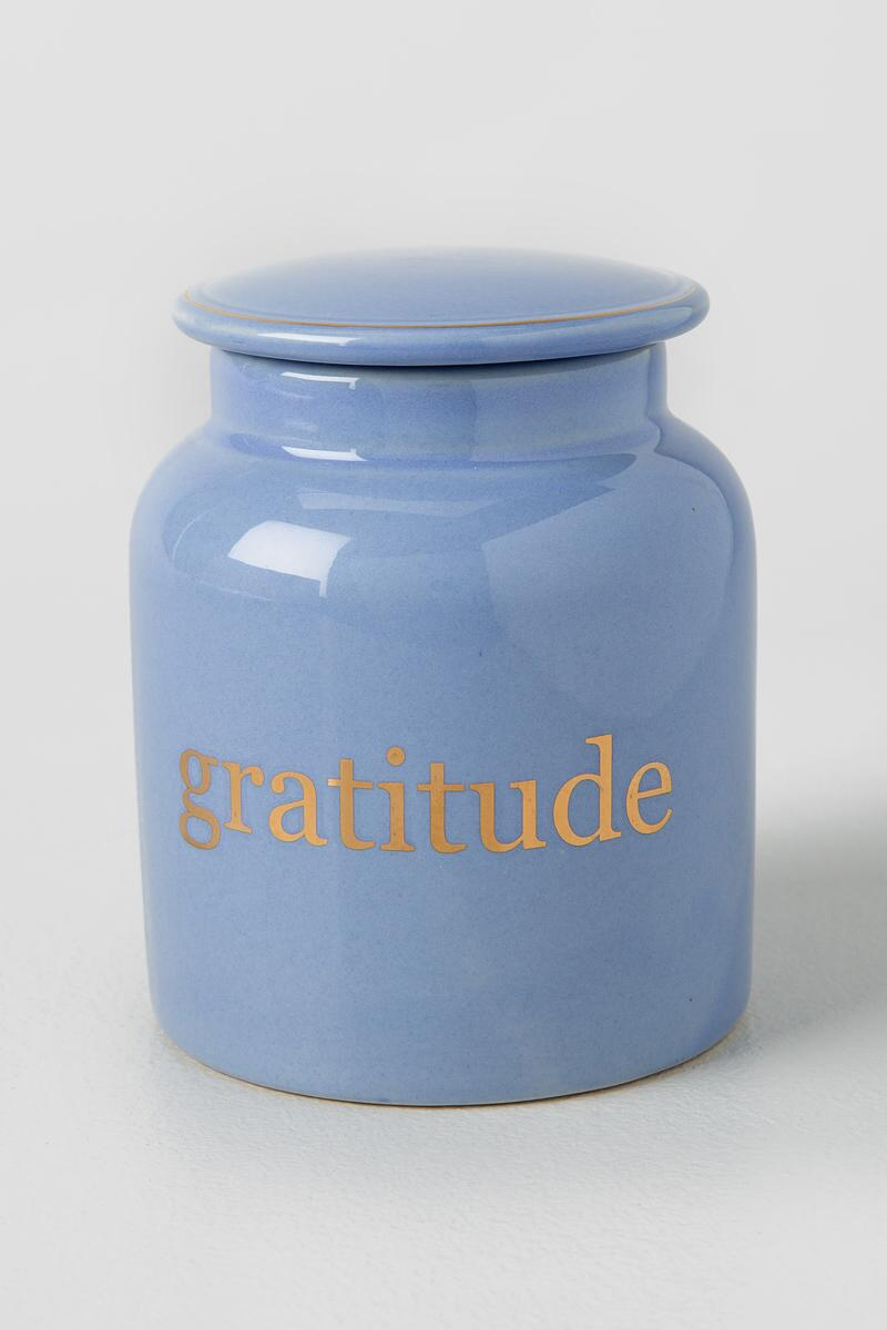 Ceramic Gratitude Jar-  gift-cl