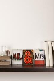 Mr. & Mrs. Language Wall Art
