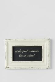 Girls Just Wanna Have Wine 7x10 Wall Art