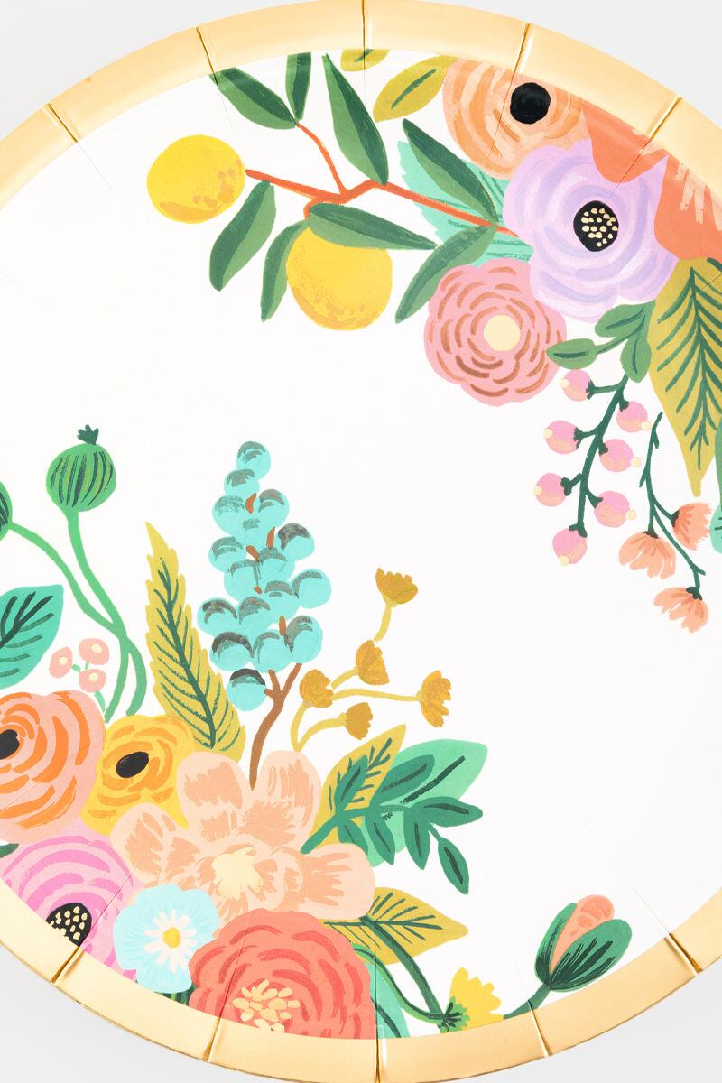 Rifle Paper Co. Garden Party Large Plates- Multi 2