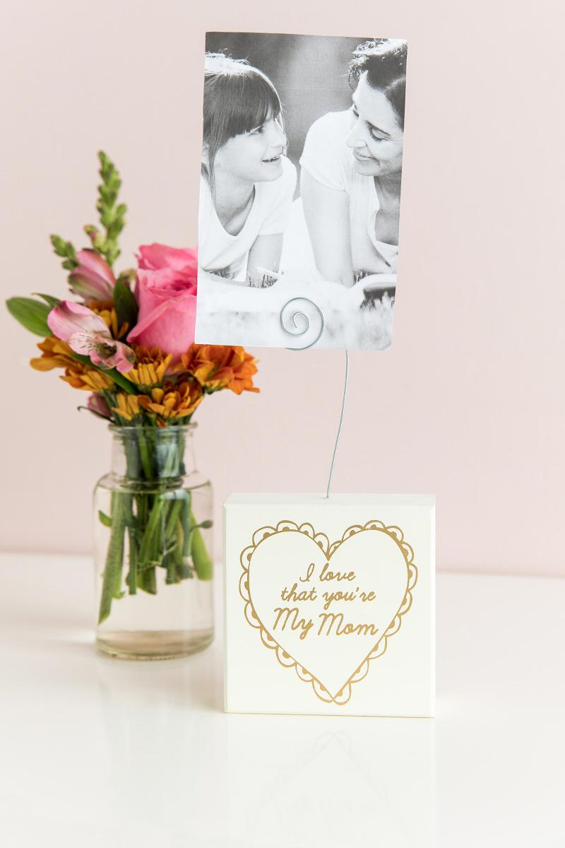 Love That You're My Mom Photo Holder-  gift-cllifestyle
