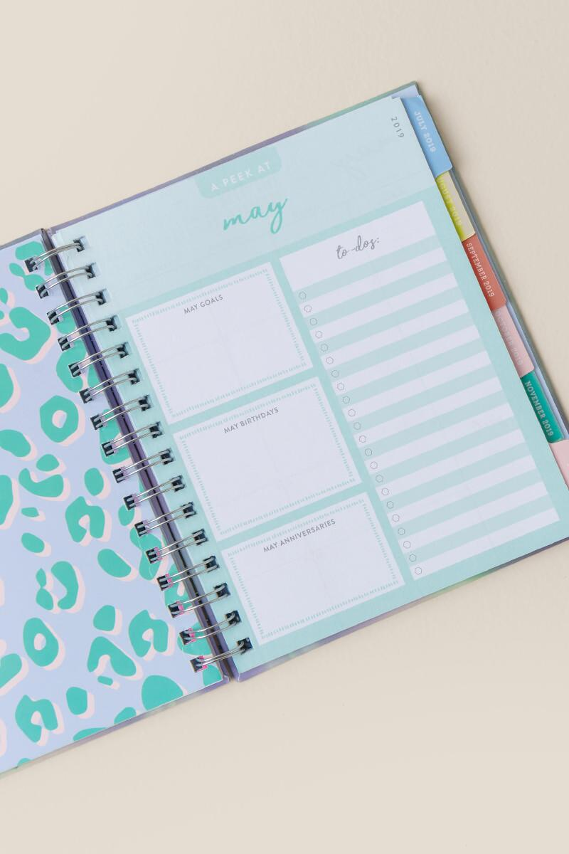 Time To Shine 2019 Planner-  gift-clalternate