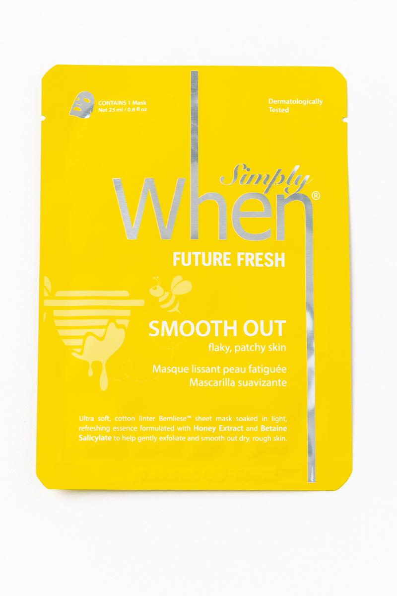 Simply When Future Fresh Mask-  yllw-cl