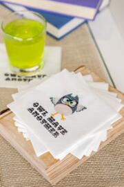 Owl Have Another Cocktail Napkins