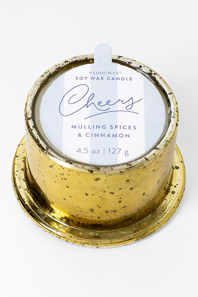 PADDYWAX™ Mulling Spices & Cinnamon Cheers Candle Jar-  gift-cl2