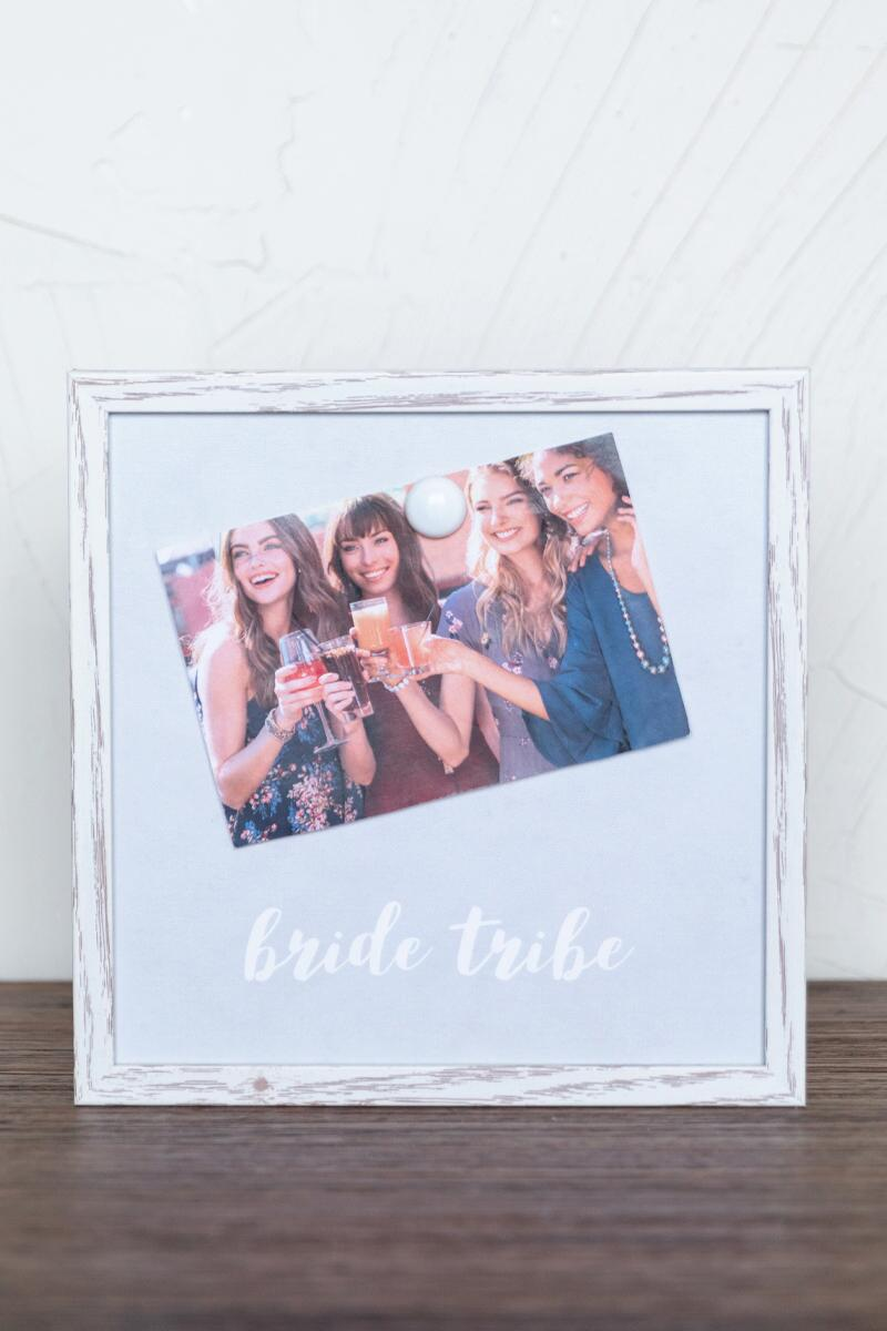 Bride Tribe Magnet Frame- Gray gift-cl2