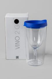 Vino 2 Go Cup in Blue