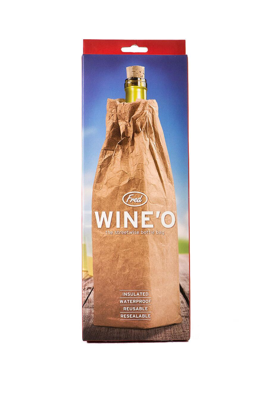 Wine'O The Streetwise Bottle Bag