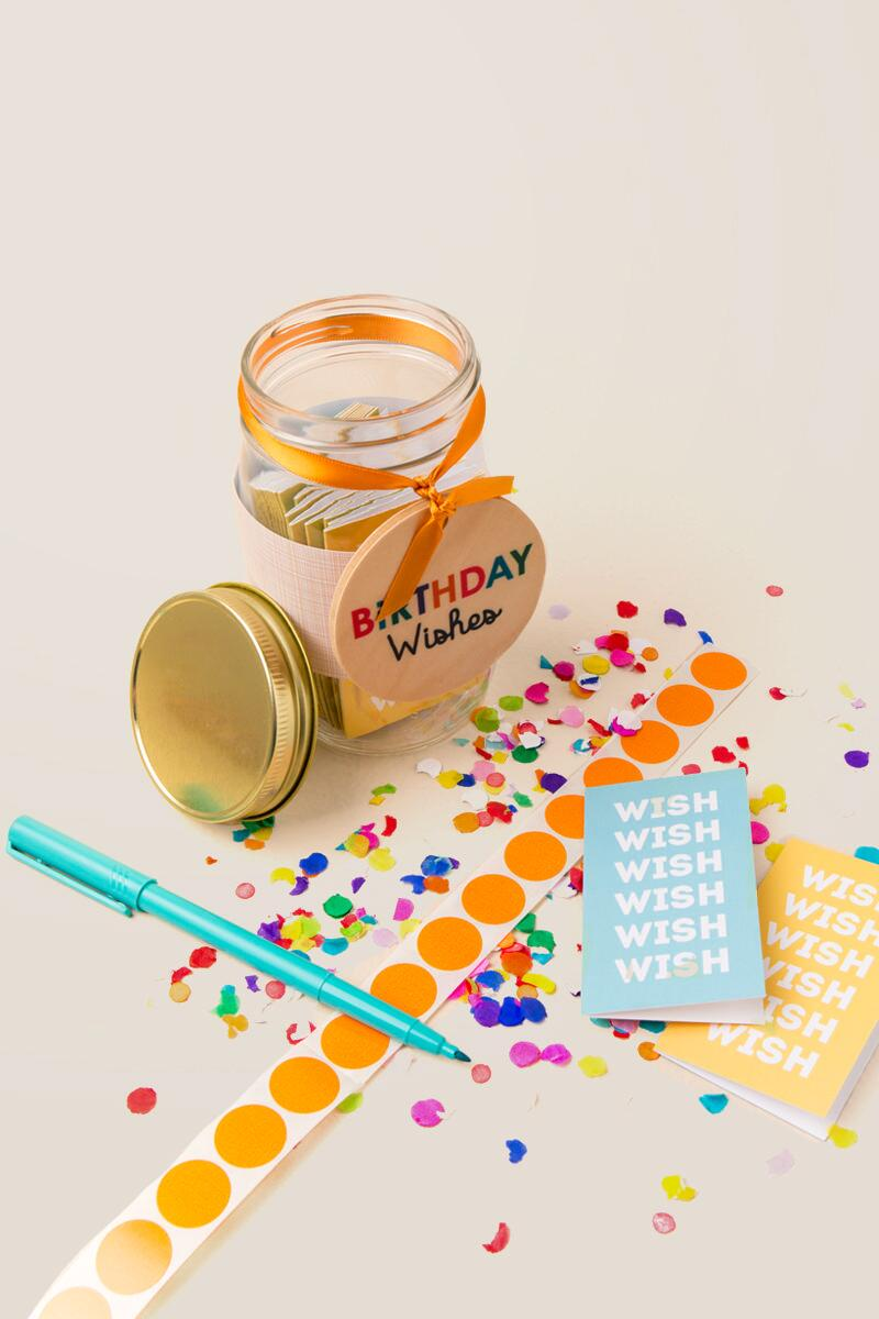 Birthday Wish Jar Gift Clalternate