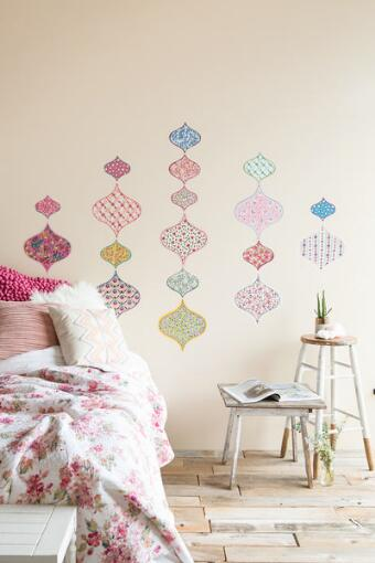 Boho Chic Sticker Wall Art