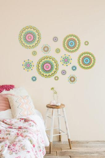 Tika Sticker Wall Art