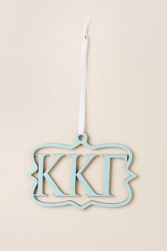 Kappa Kappa Gamma Mini Wood Wall Hanger