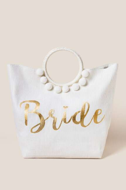 Bridal Circle Handle Tote