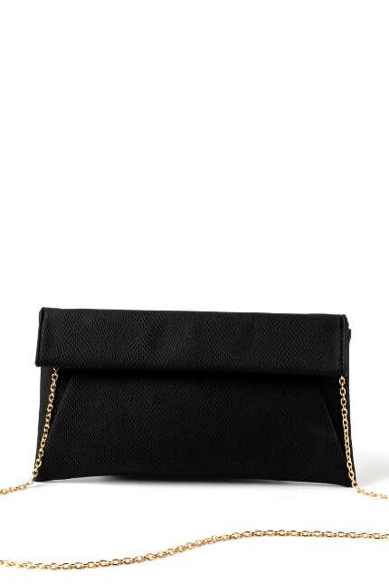 Alice Fold-over Snake Clutch