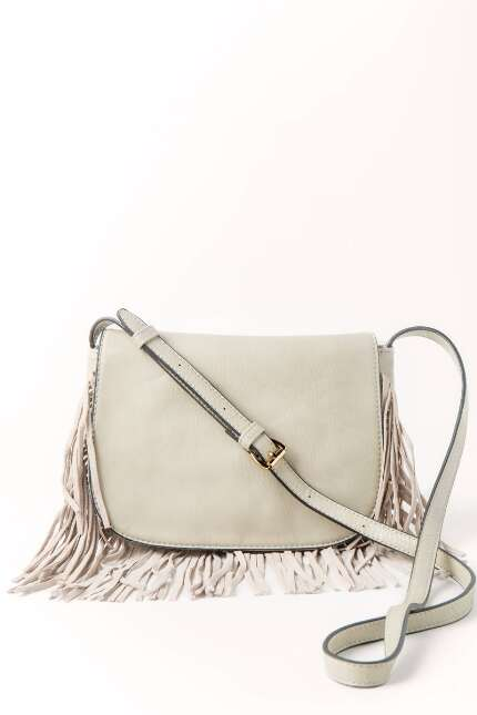 Kira Fringe Flap Over Crossbody
