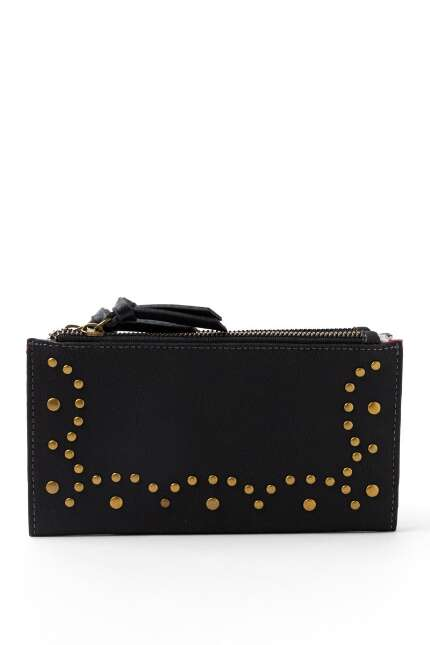 Mandy Studded Bi-fold Wallet