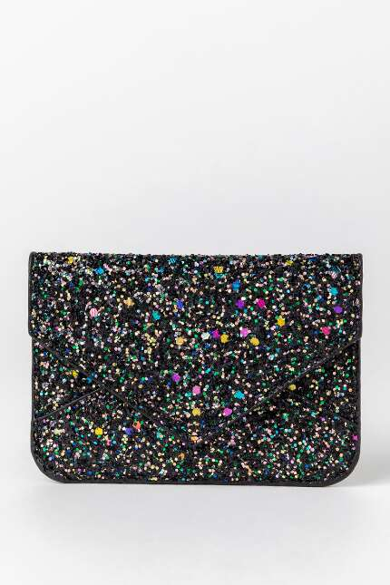 Wren Glitter Envelope Card Case