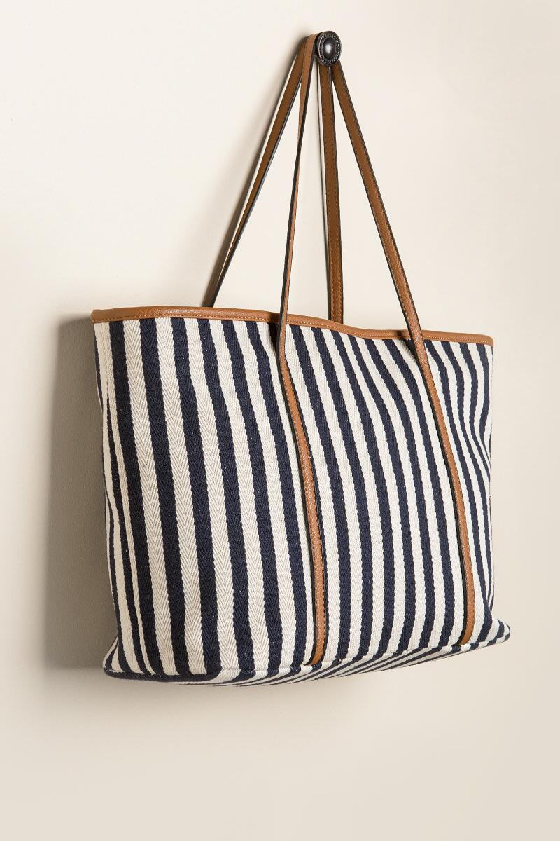 Ruthie Striped Tote