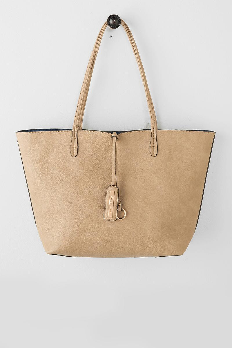 Kent Reversible Tote-  taup-cl