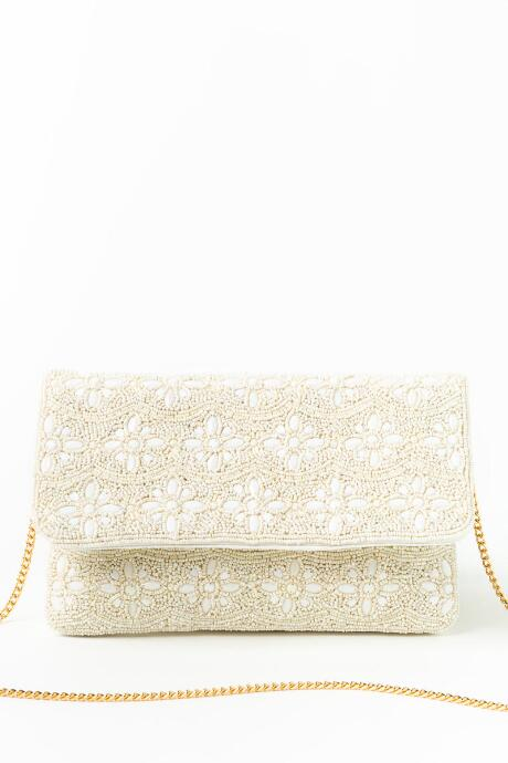 Betty Beaded Floral Clutch