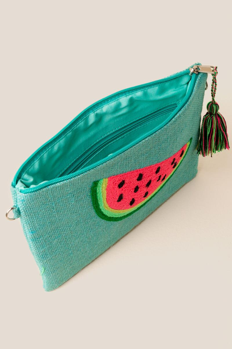 Eleanor Watermelon Crossbody-  grn-cl3