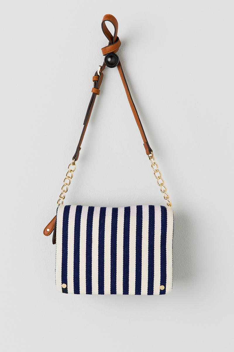 Marley Stripe Crossbody Bag