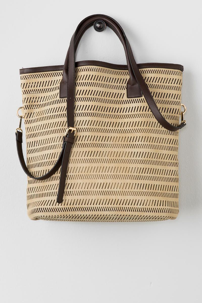 Izidora Perforated Tote