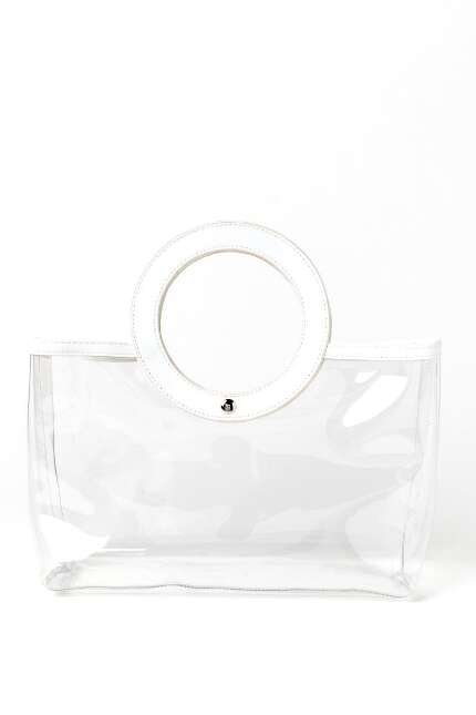 Abby Clear Satchel