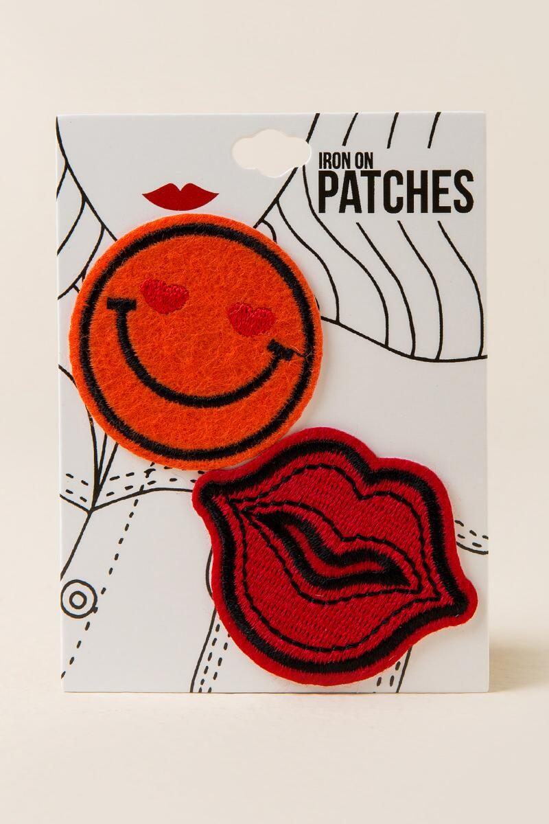 Smile & Lips Patches-  red-cl