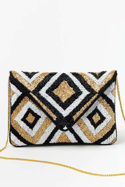 Rachel Diamond Clutch