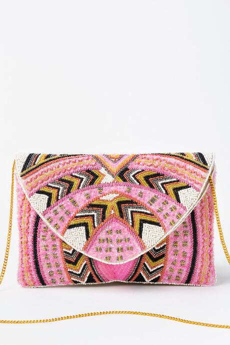 Mary Multi Bead Clutch