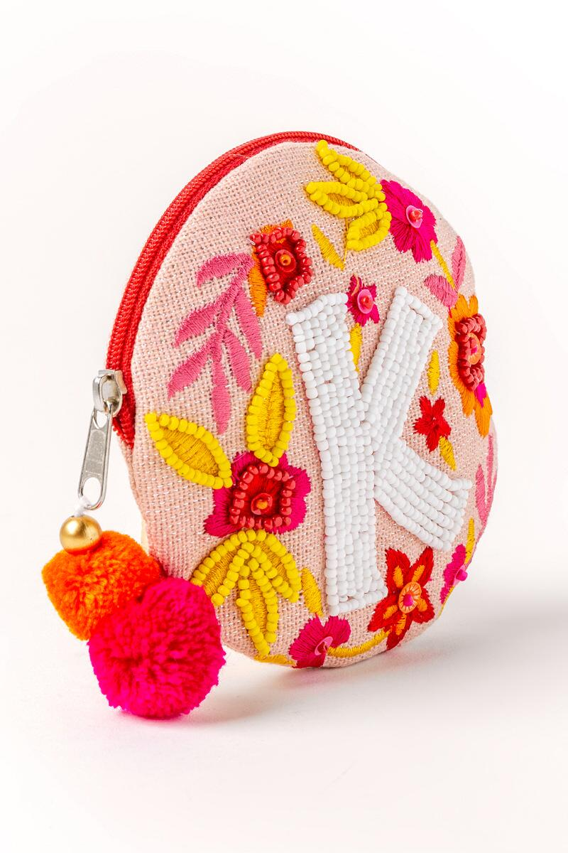 Fran's Initial Coin Round Purse-k-cl 2