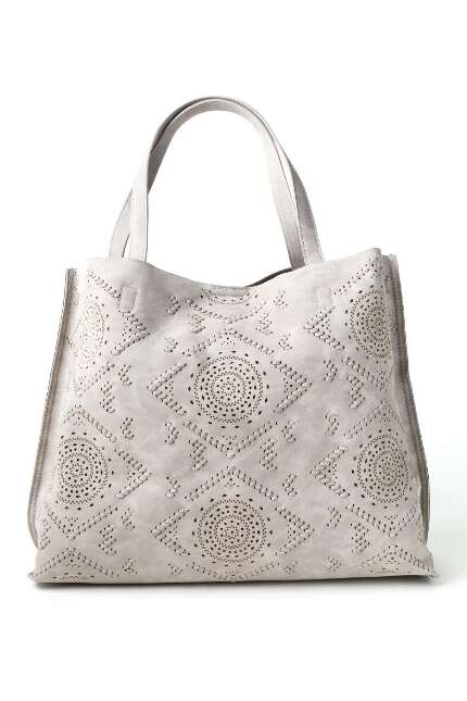 Melody Medallion Perforated Tote