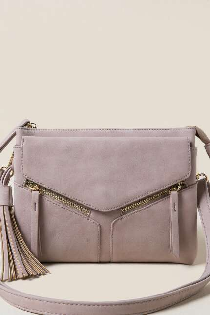 Fernanda Double Zip Crossbody