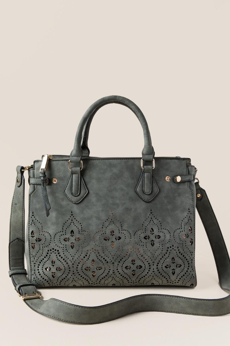 Kali Diamond Cutout Satchel