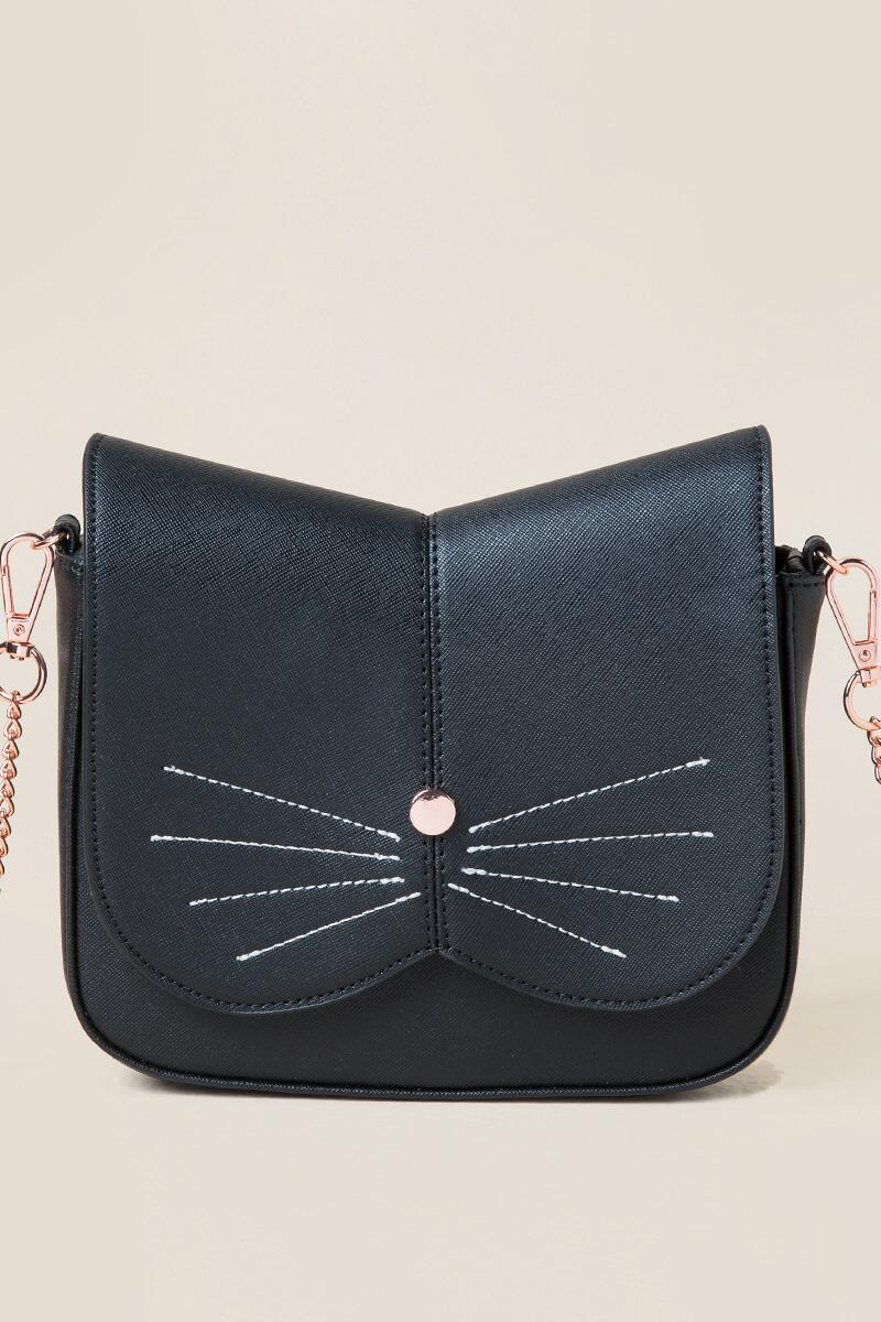 Cat Face Crossbody