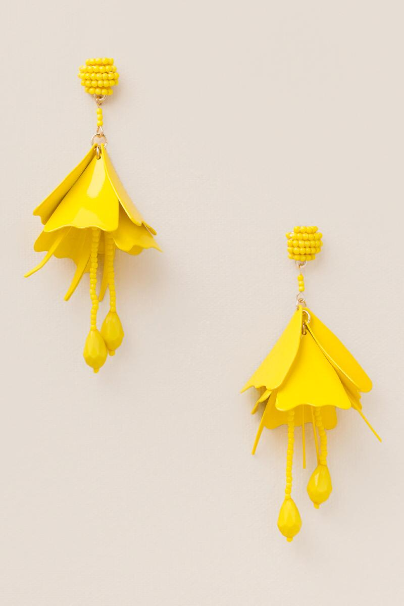 Soledad Deconstructed Flowers in Yellow-  yllw-cl