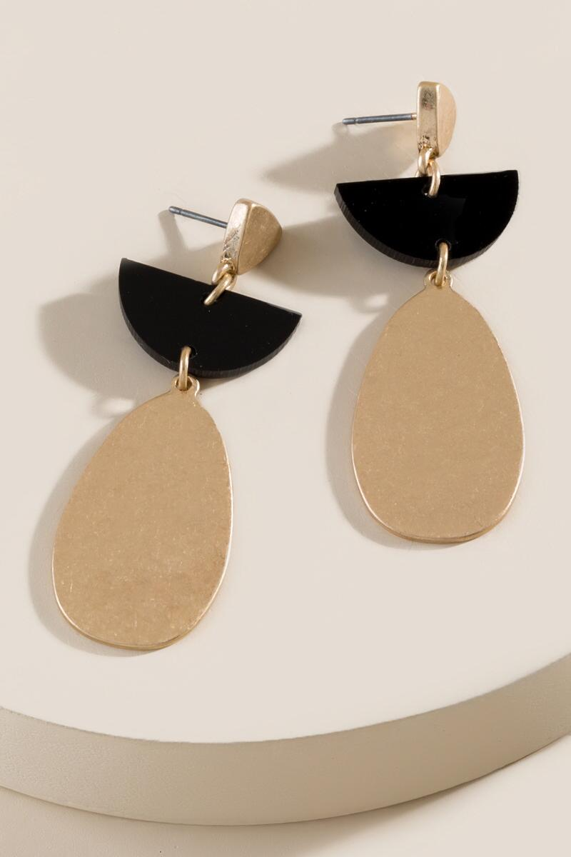 Tara Linear Drop Earrings