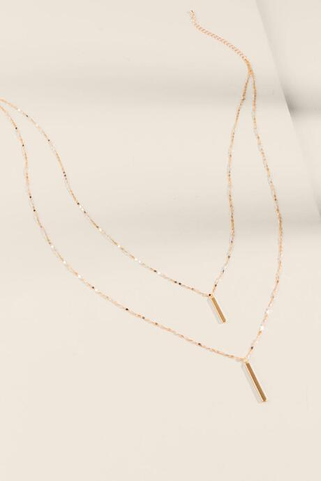 Allyson Sparkle Chain Layered Necklace