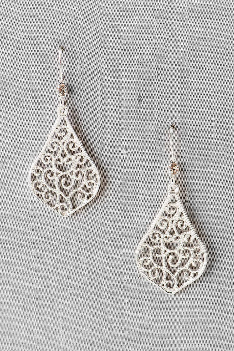 Camden Filigree Drop Earrings