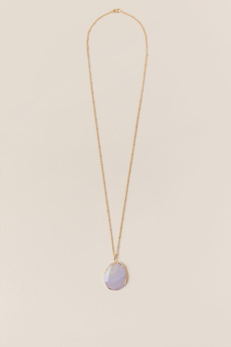 Taryn Agate Pendant Necklace