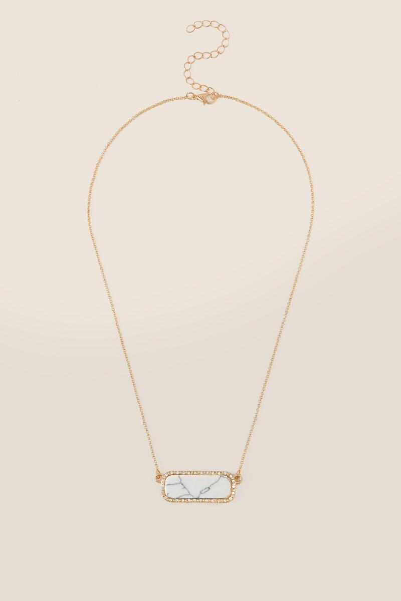 bead necklace pendant y marco delicati gold flat rectangle li yellow bicego products delicatigoldpendant